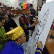 Presiden Undang Hidayat sebagai Ahli Waris dalam Penganugerahan Baabullah Pahlawan Nasional
