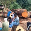 Tinjau Lahan yang Dirusak, Komisi III DPRD Halmahera Tengah Temui BPN