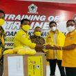Serahkan Ribuan Masker, AMPG: Ini Dukungan Kami ke MHB-GAS di Pilwako Ternate