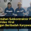 Ini Bantahan Subkontraktor PT IWIP Atas Video Viral Larangan Beribadah Karyawan
