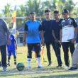 Edi Langkara Buka Turnamen Sepakbola dan Pentas Seni Halmahera Tengah