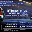 SIWO PWI Maluku Utara Bakal Gelar Turnament Futsal Antar OPD
