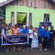 KNPI dan Komunitas Jarod Serahkan Bantuan ke Korban Banjir di Halmahera Utara