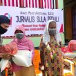 Peringati HPN, Wartawan di Kepulauan Sula Bagi-bagi Sembako