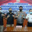 Sepanjang 2021, Polda Maluku Utara Tangkap 61 Orang Kasus Narkoba