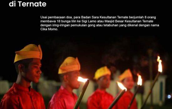 Tradisi Menyambut Malam Lailatul Qadar di Ternate