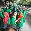 Sambut Muswil, Korps Alumni HMI Maluku Utara Gelar Jalan Sehat