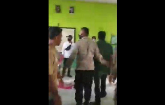 Video Pengrusakan Plano C Hasil PSU Pilkada Halmahera Utara