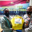 Peduli Jurnalis, Polda Maluku Utara Salurkan Paket Isoman