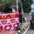 Nasib Penjaja Umbul-umbul Merah Putih di Tengah Suasana Kemerdekaan