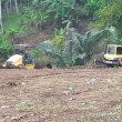 Aktivitas Penggusuran Lahan di Sangaji Ternate, Dikeluhkan Warga