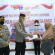 Pemulihan Ekonomi, Polda Maluku Utara Bantu Pedagang di Halmahera Barat